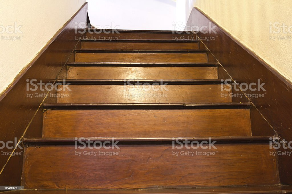 Klassisches Holz Treppe – Foto