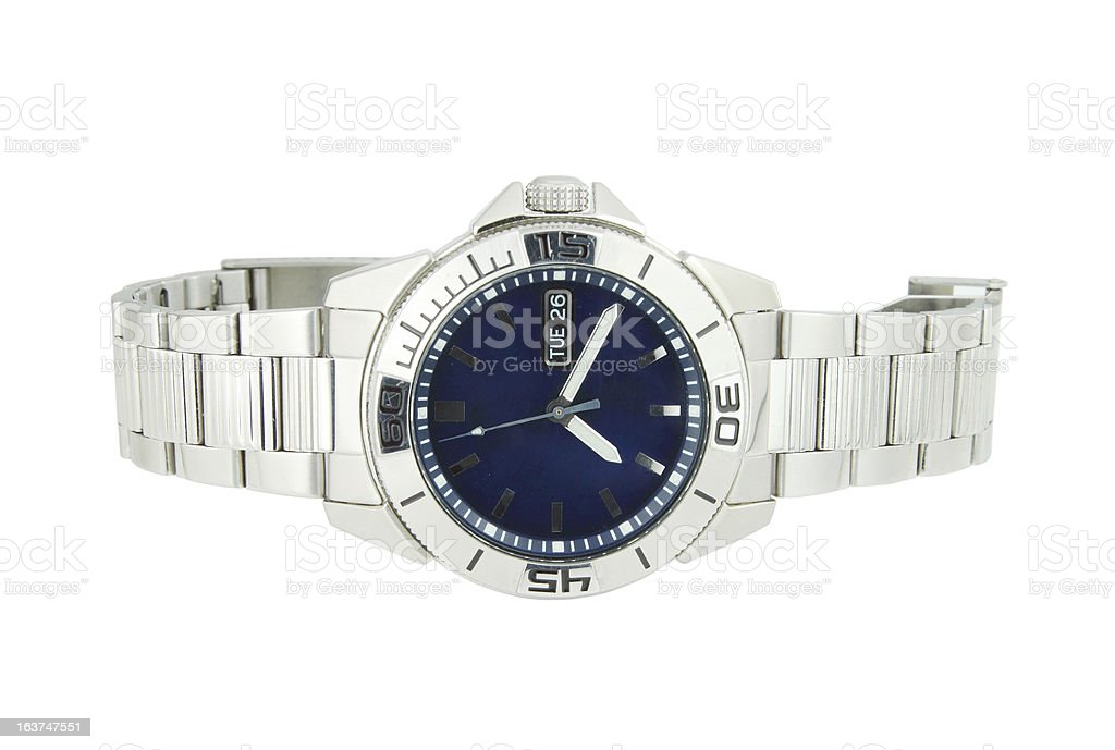 classic wrist watches royalty-free stock photo