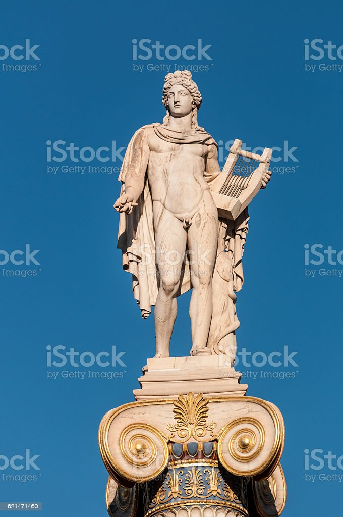 classical Apollo statue - Photo