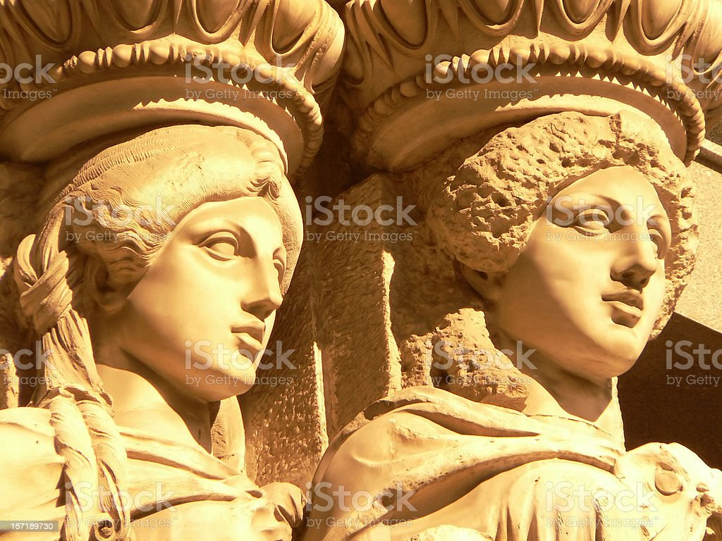 classical beauty stock photo