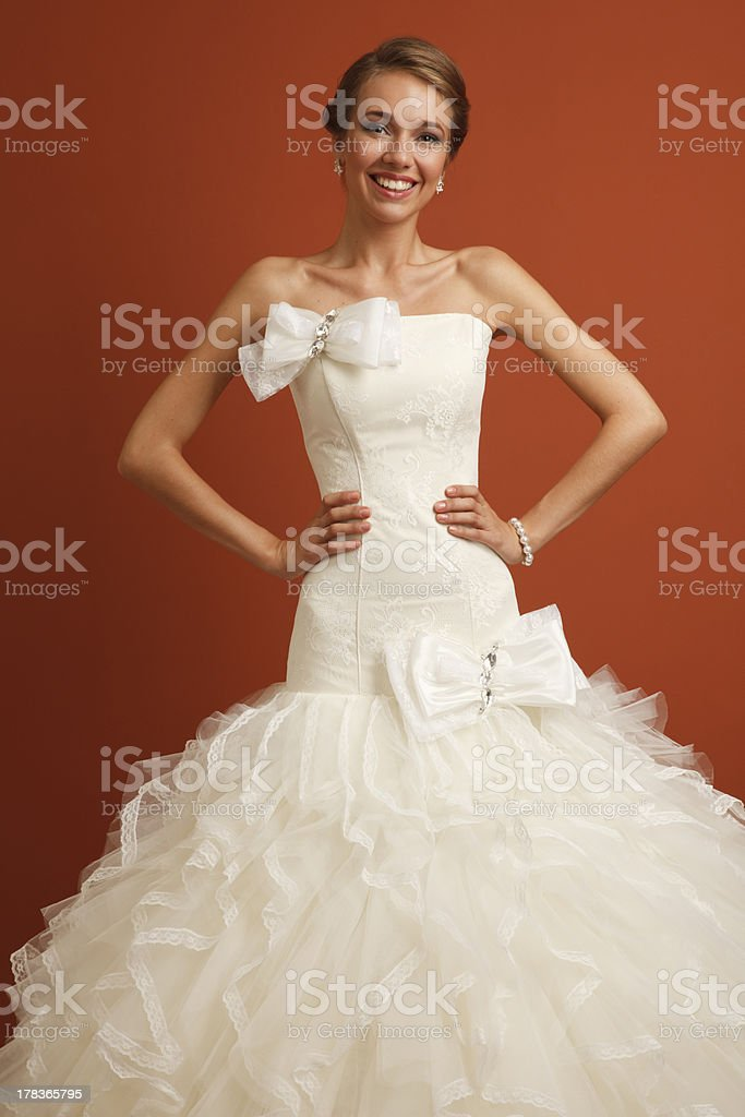 Classical bride royalty-free stock photo