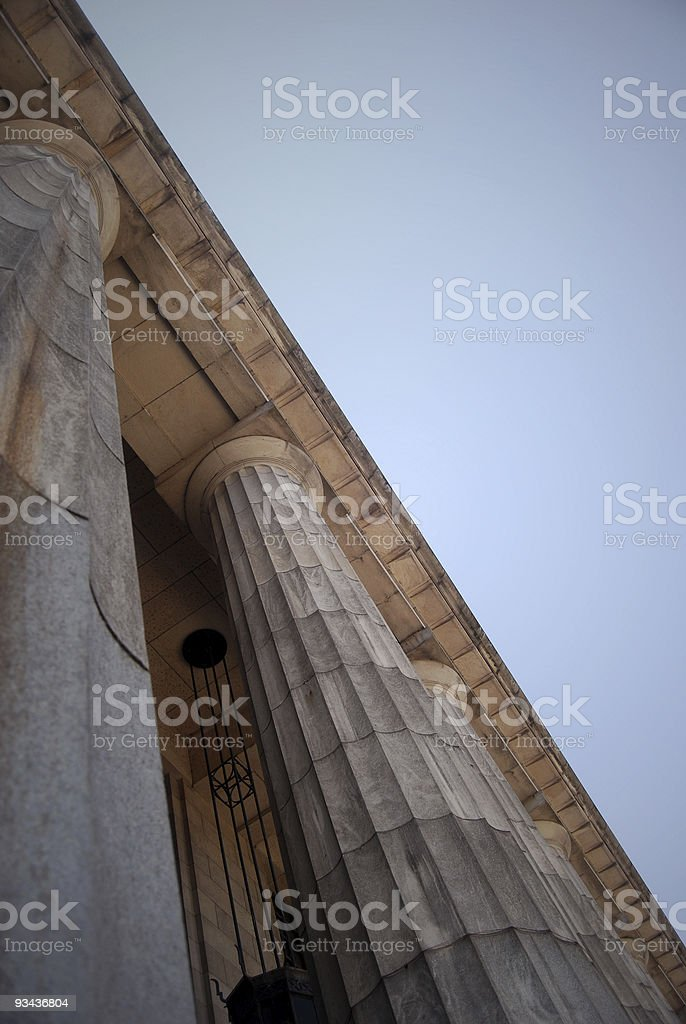 Classical building royalty-free stock photo