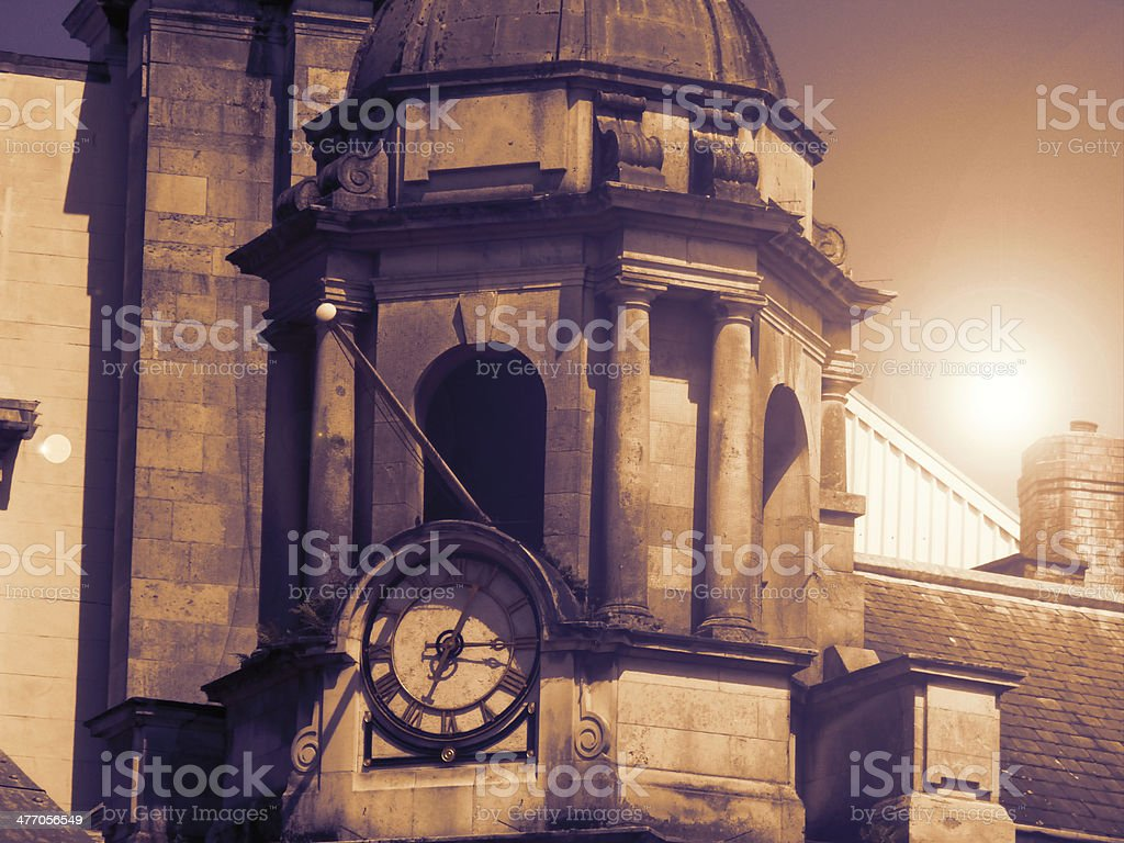 Classical Clock Tower royalty-free stock photo