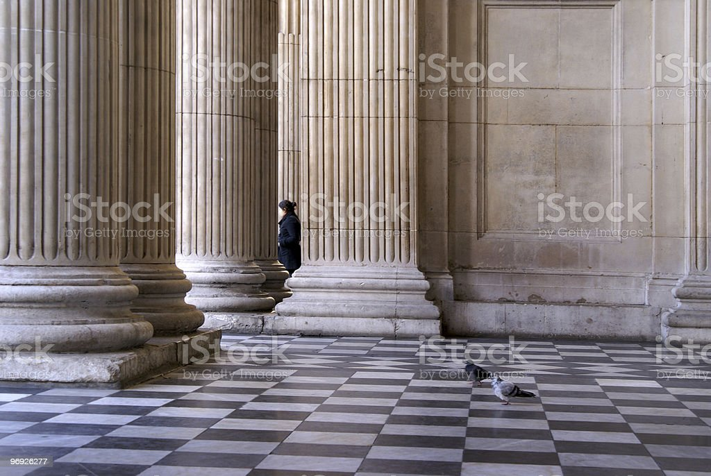Classical columns royalty-free stock photo