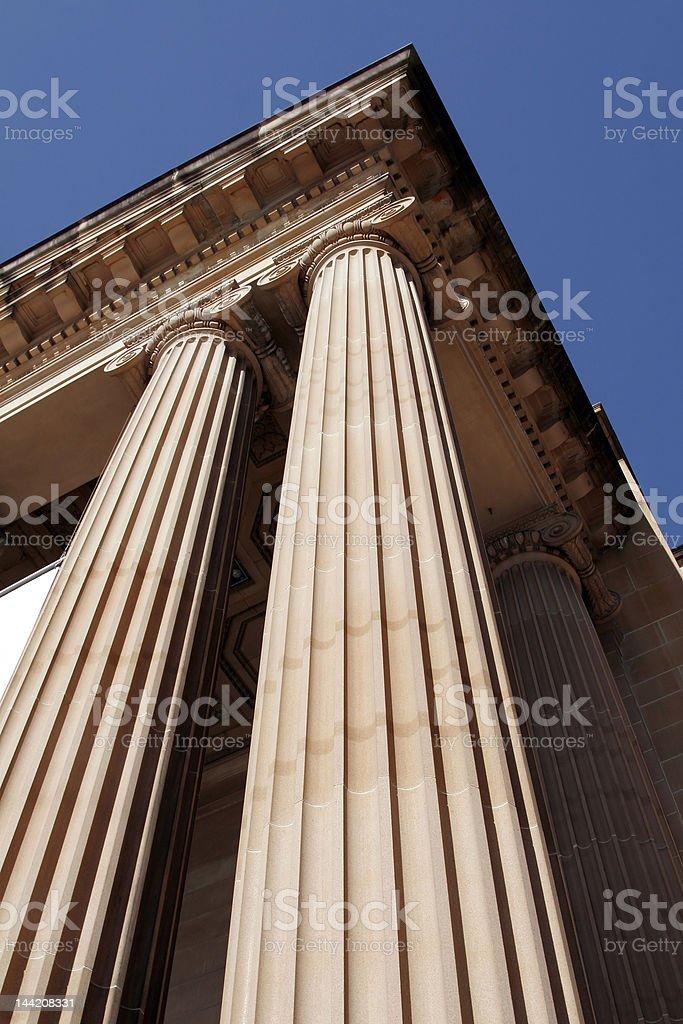 Classical Columns - Pillars royalty-free stock photo