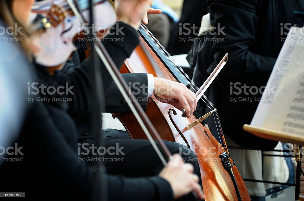 Classical concert stock photo