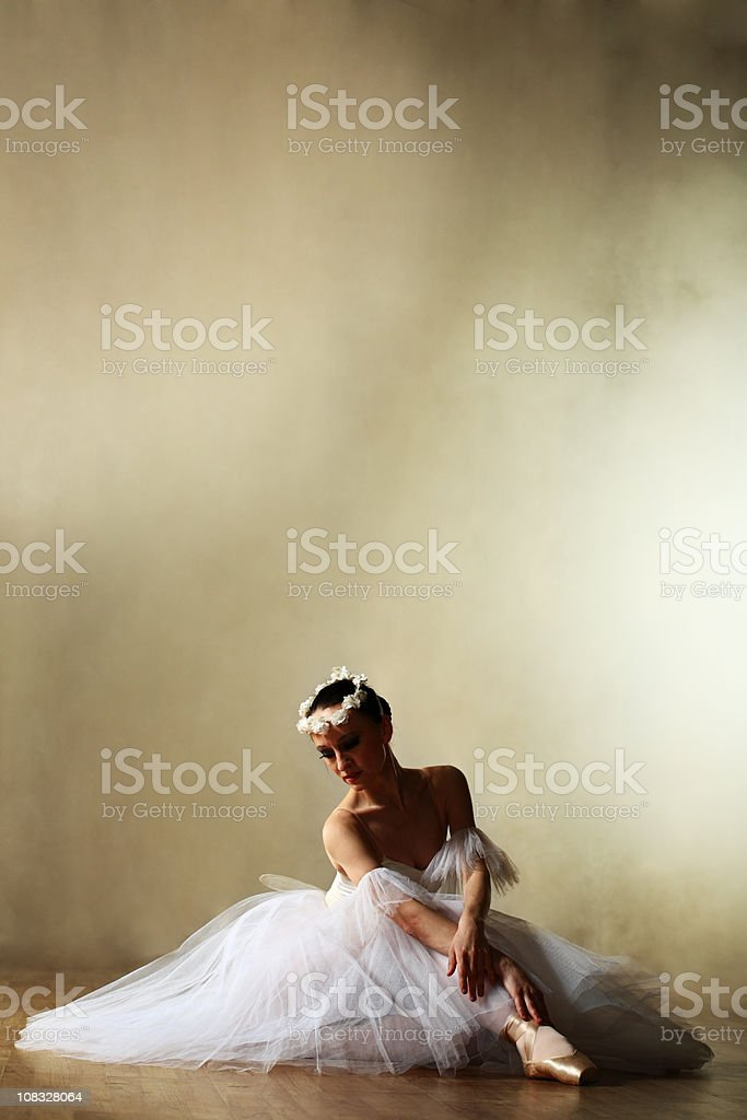 classical dancer stock photo