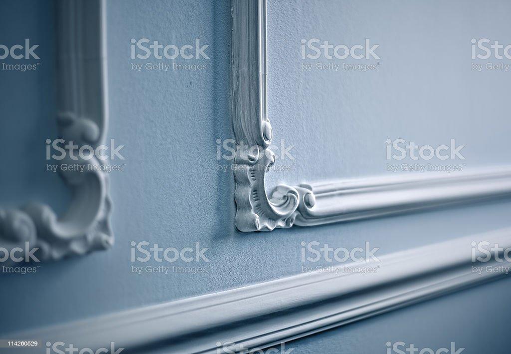 classical decor close-up stock photo
