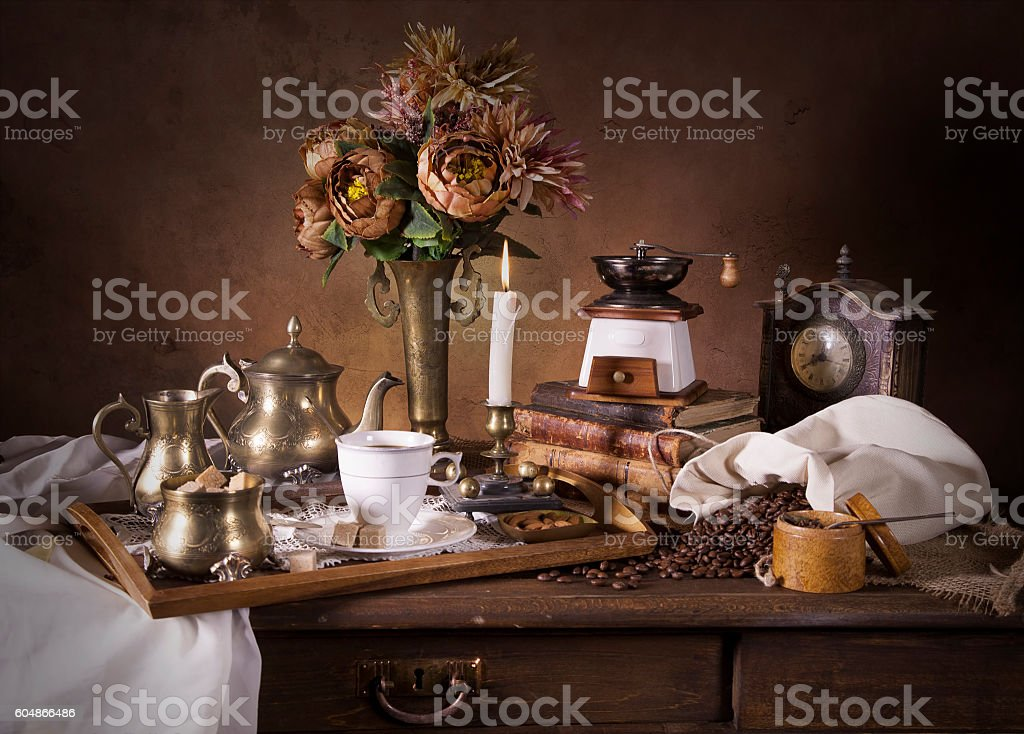Classical Dutch style stock photo