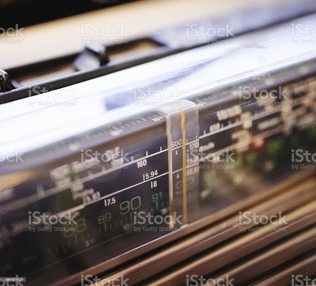 Classical frequencies stock photo