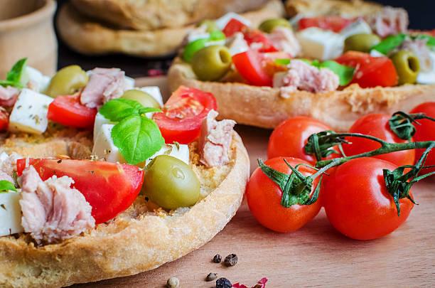 Classical frisella tomato stock photo