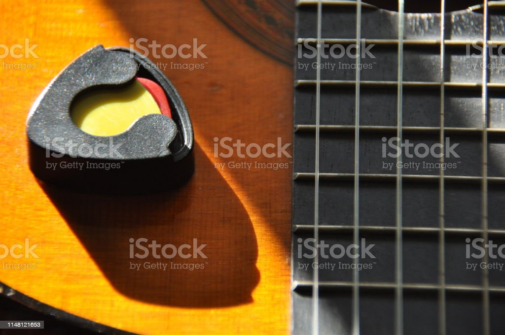 Classical Guitar Issuing A Stringed Instrument Sounds