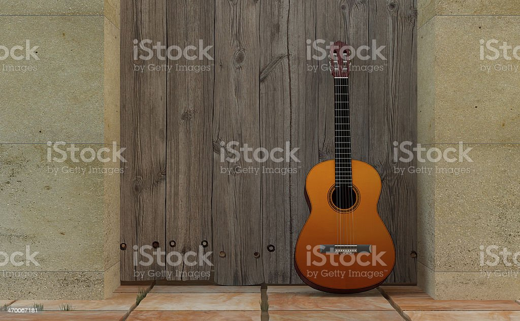 Guitarra Clásica stock photo