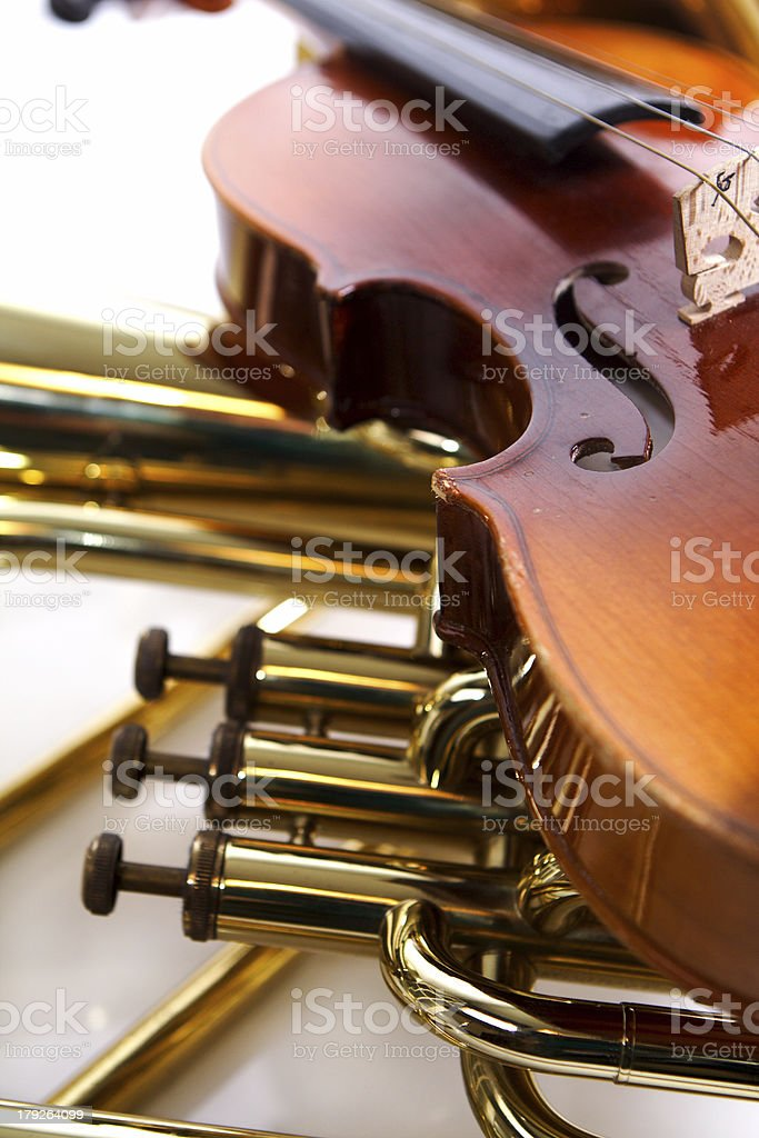 classical instruments royalty-free stock photo