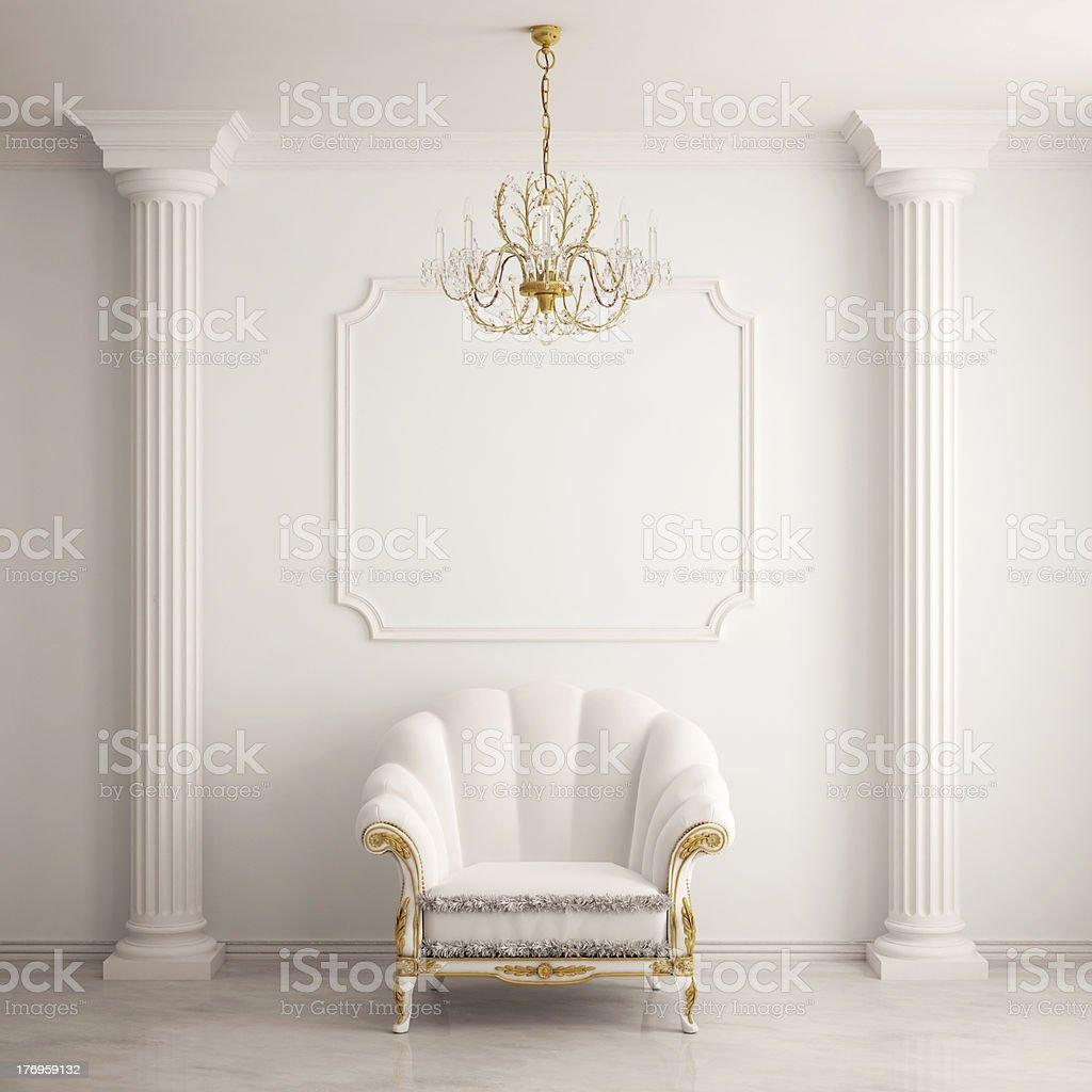 Klassische Innenausstattung Mit Sessel Stockfoto 176959132   iStock