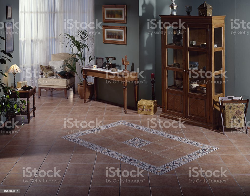 Classical Living Room stock photo