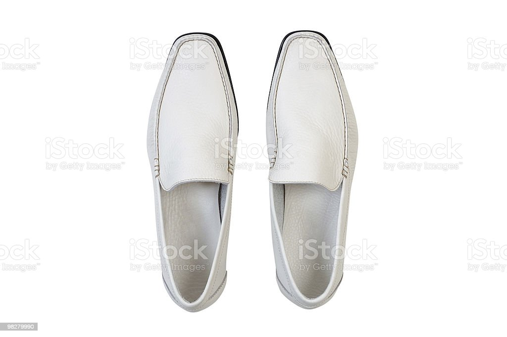 Classico uomo scarpe in pelle foto stock royalty-free