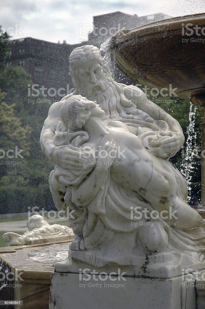 Klassische Marmor-Skulptur Lizenzfreies stock-foto