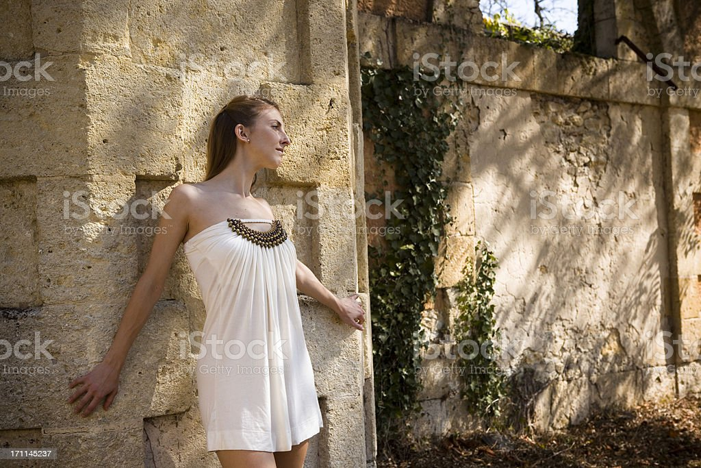 Classical model stock photo