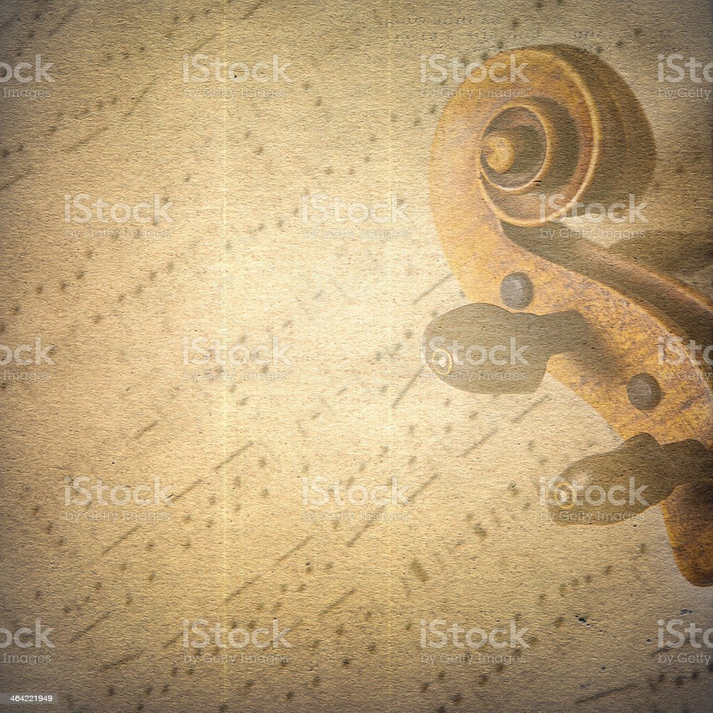 Classical music background stock photo