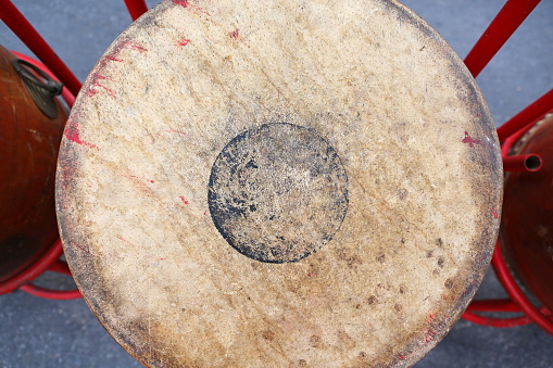 classical music instrument Thai drum