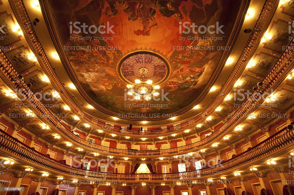 Classical Opera house royalty-free stock photo