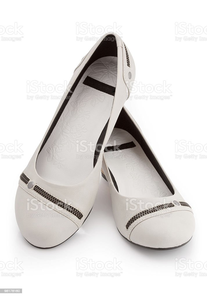 Classical shoes royalty-free stock photo