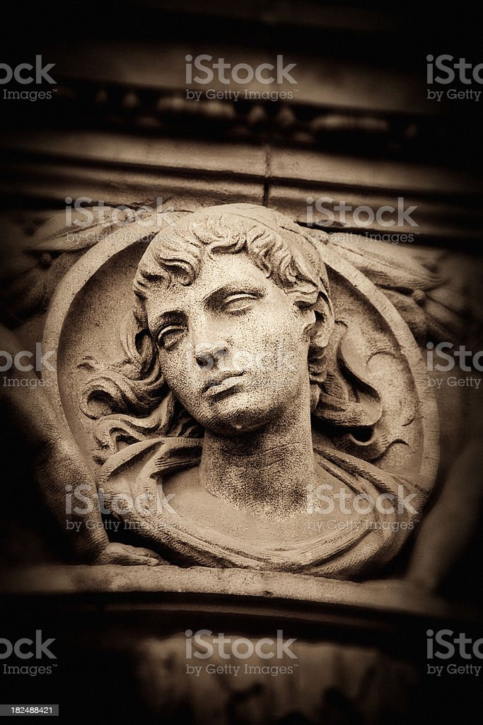 Classical stone sculpture royalty-free stock photo