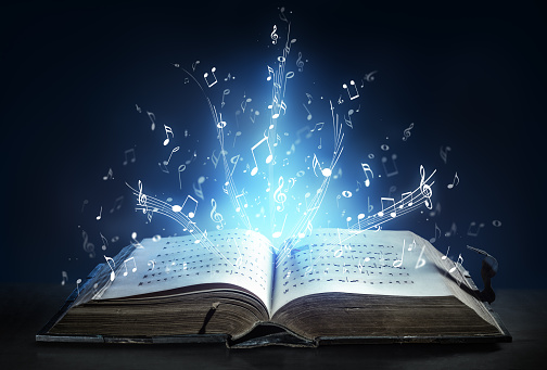 Classical Symphony Shines With Musical Notes From An Ancient Book