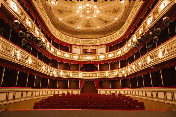 classical theater - opera stock photos and pictures
