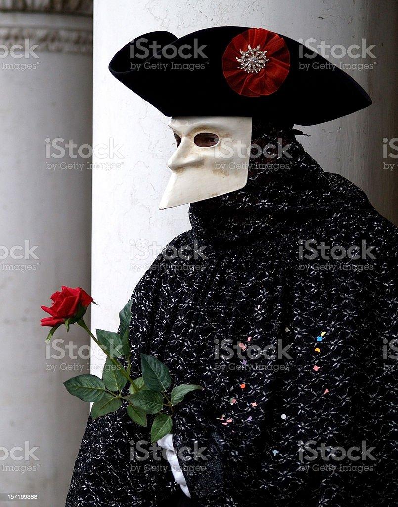 Classical Venice; Carnival in Venezia. royalty-free stock photo