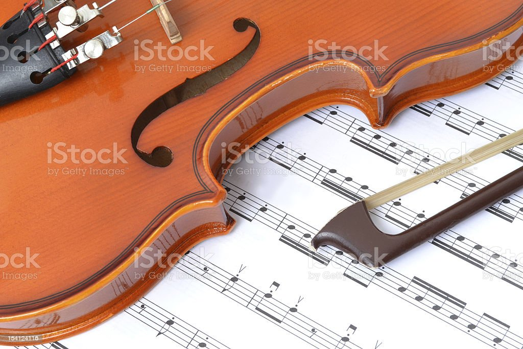 Classical Violin royalty-free stock photo