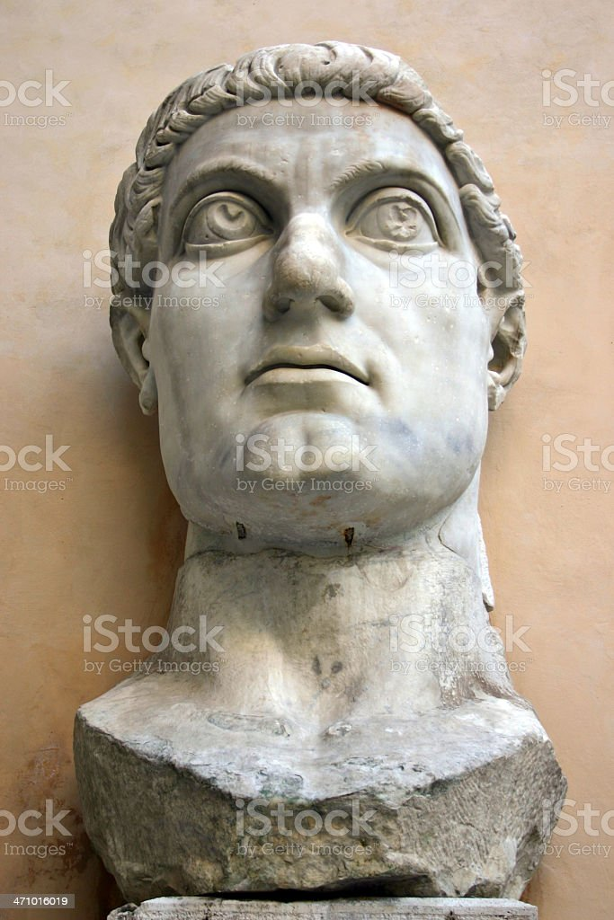 Classics 03 - Emperor Constantine stock photo