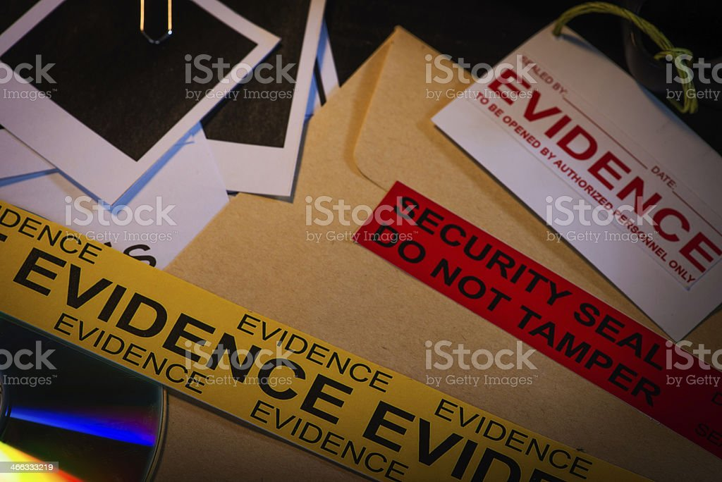 Classified files stock photo