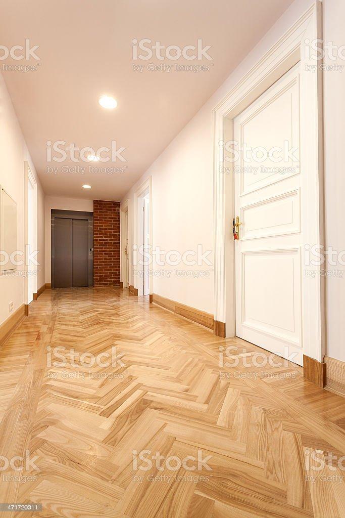 Classis corridor royalty-free stock photo