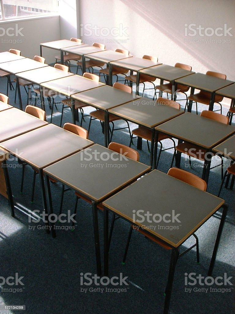 Classroom - Above royalty-free stock photo