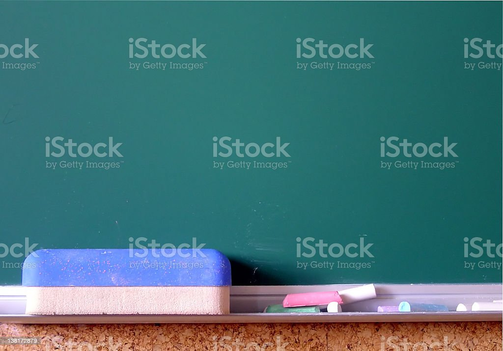 Classroom blackboard royalty-free stock photo