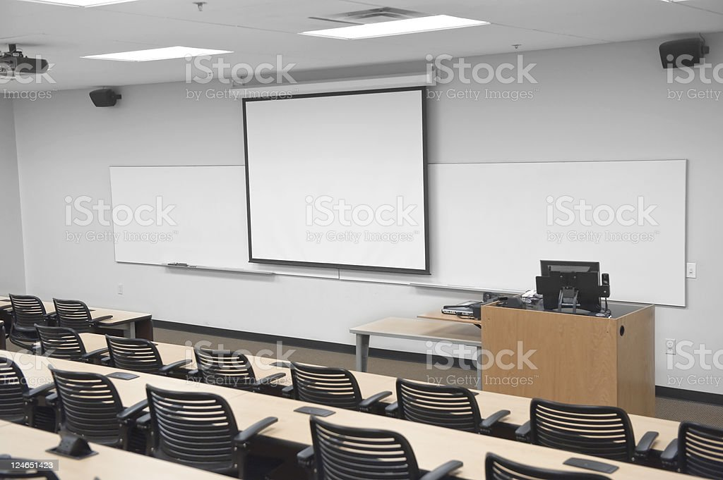 Classroom Front royalty-free stock photo
