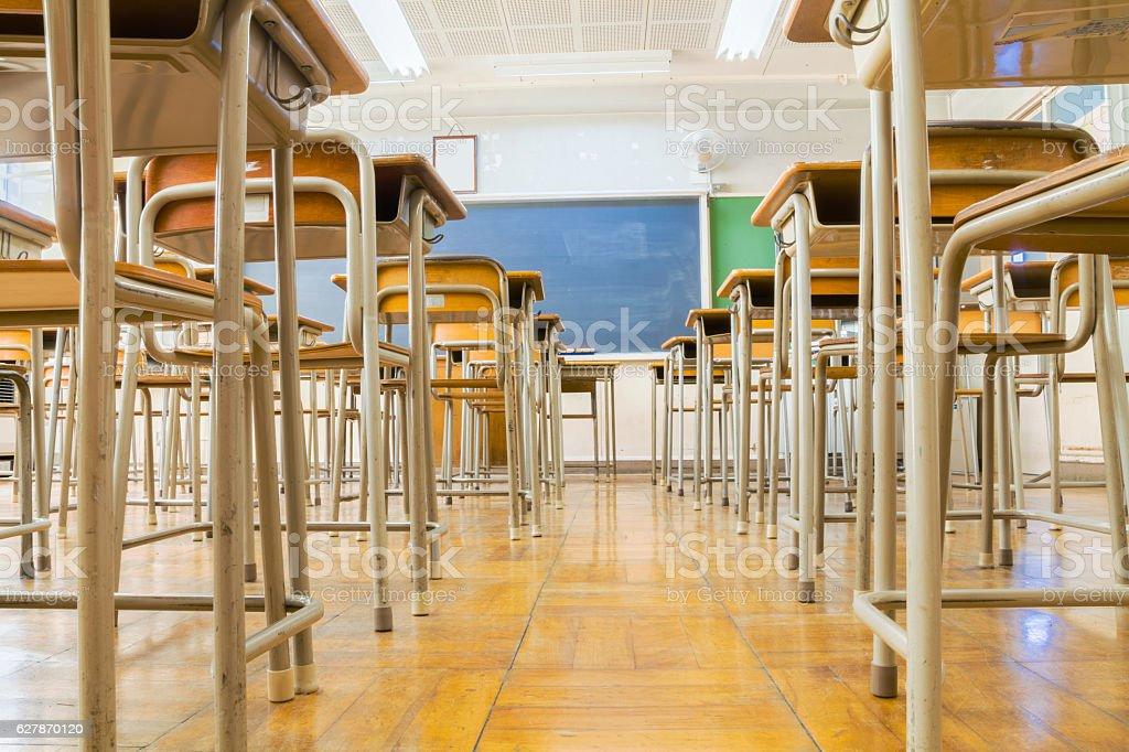 Classroom Low Angle royalty-free stock photo