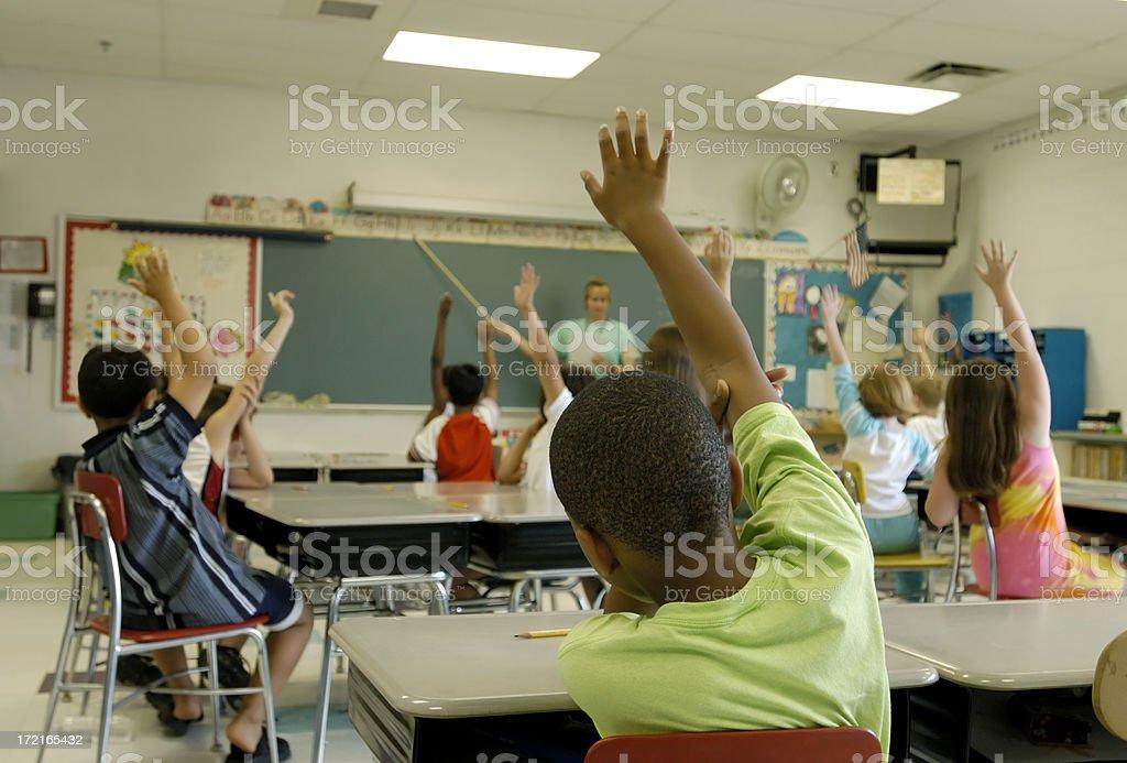 classroom stock photo