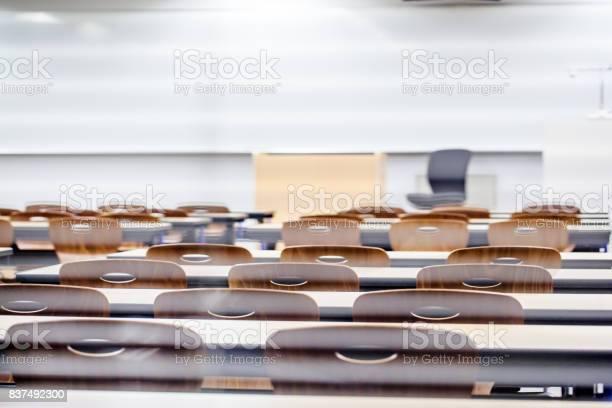 教室の窓から見える - インストラクターのロイヤリティフリーストックフォト