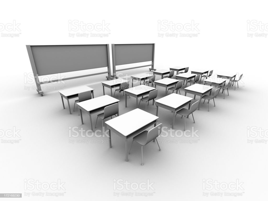 Classroom Series 02 royalty-free stock photo