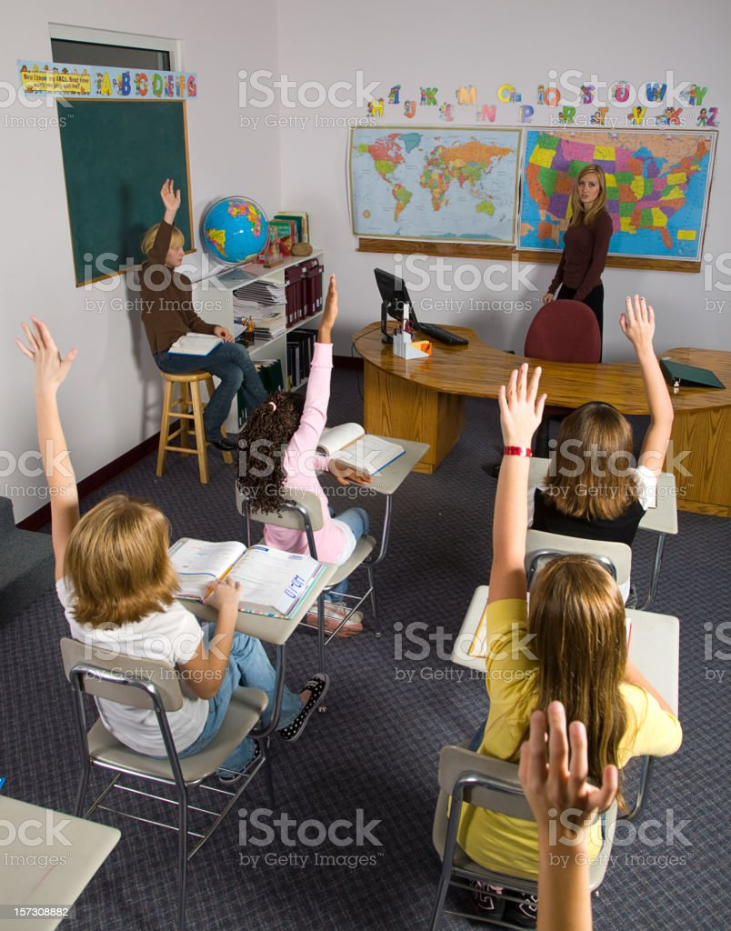 Classroom Series royalty-free stock photo