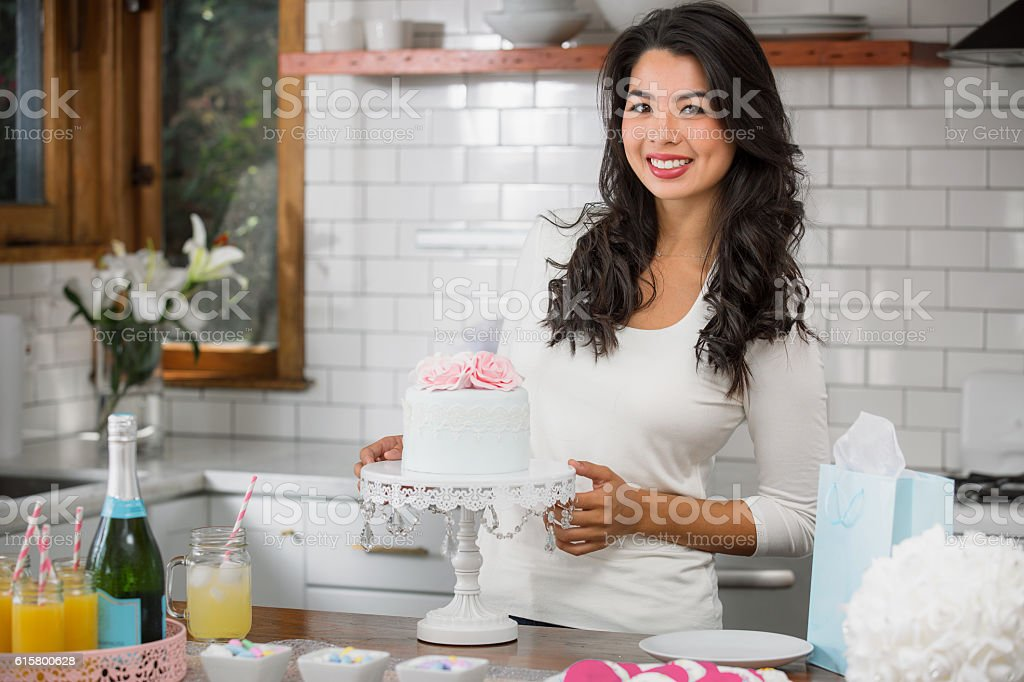 Image Of Baby Shower Classy All White Baby Shower So Chic Since Shes