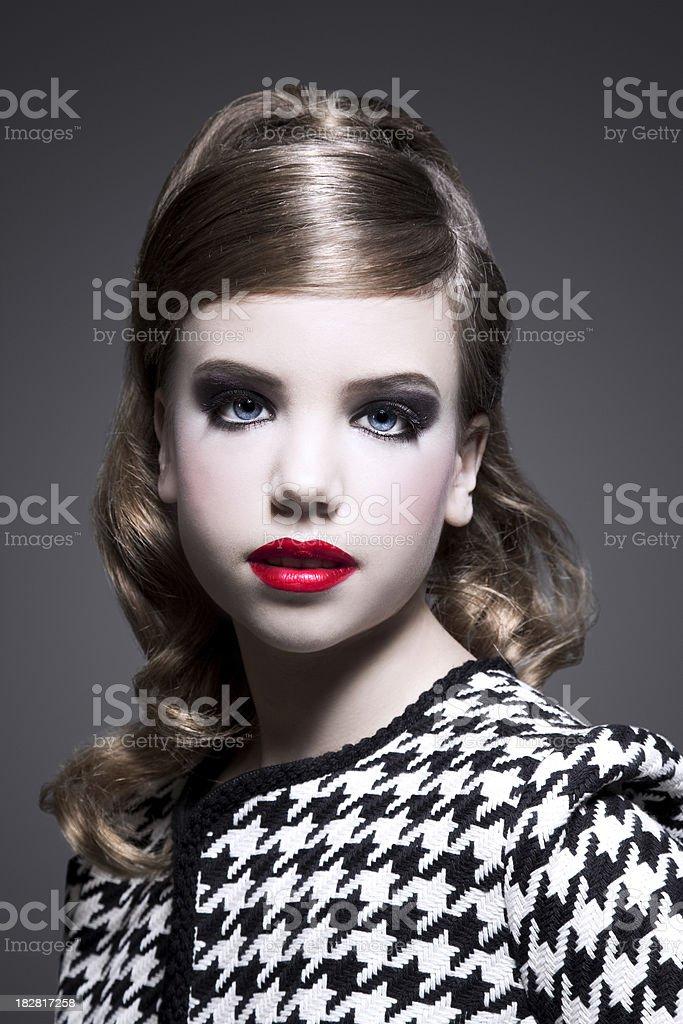 Classy Girl royalty-free stock photo