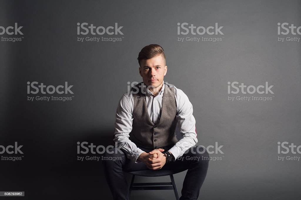 Classy Guy stock photo