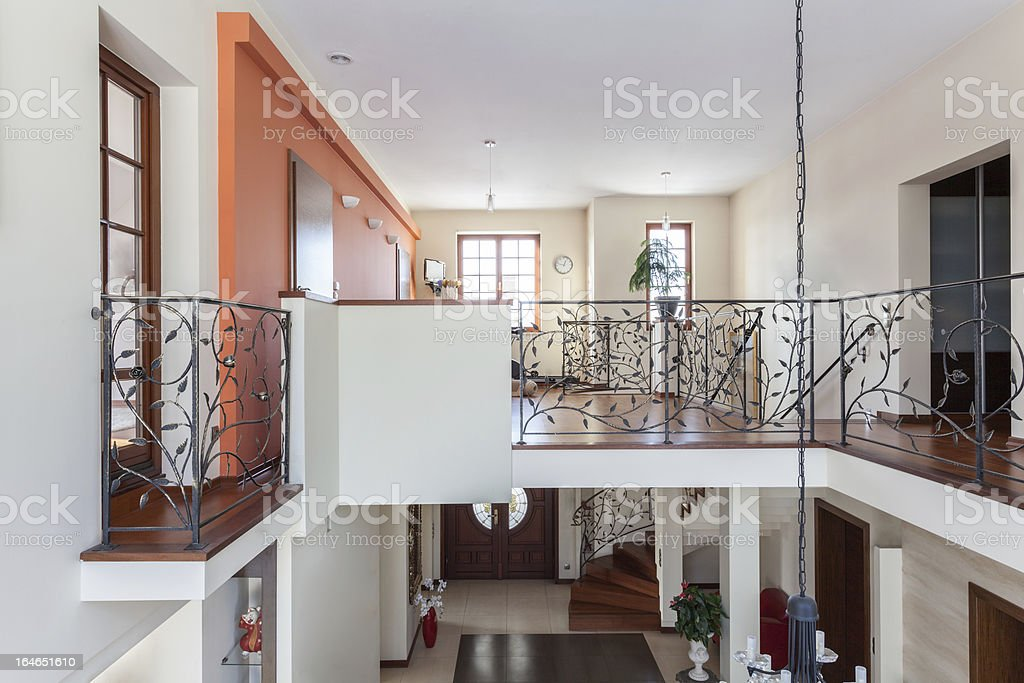 Classy house - two-storey home royalty-free stock photo
