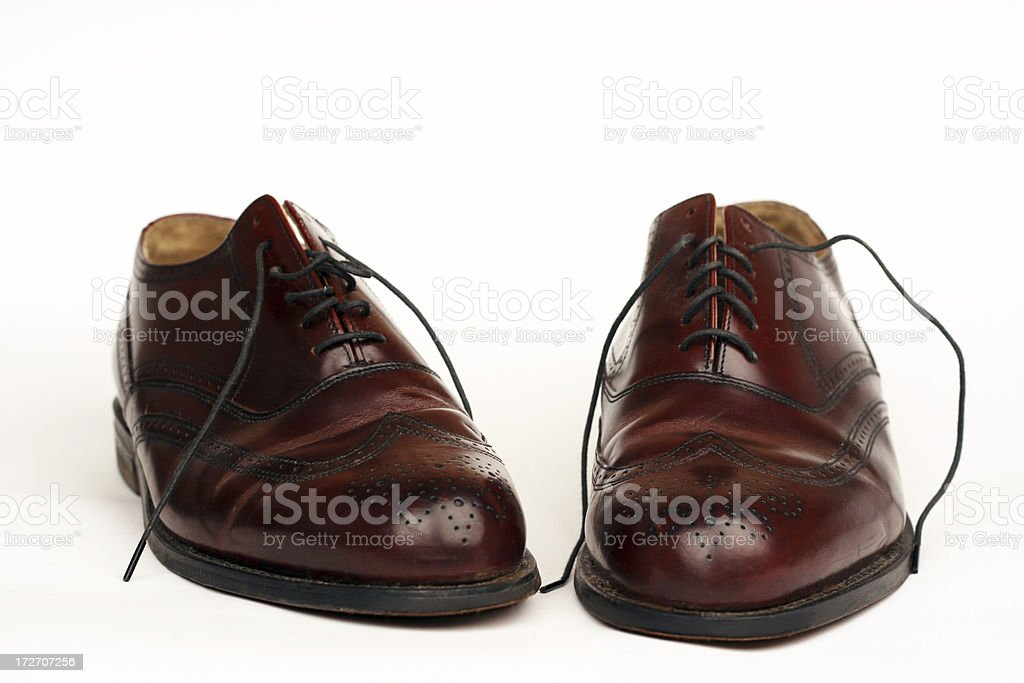 classy shoes royalty-free stock photo