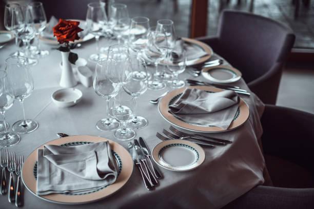 Classy table set