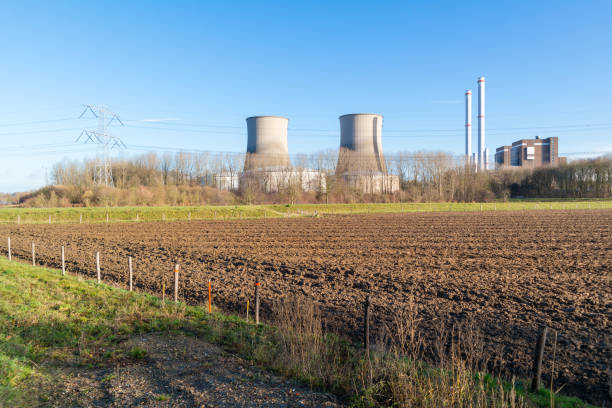 Clauscentrale power station in Maasbracht, Netherlands – Foto